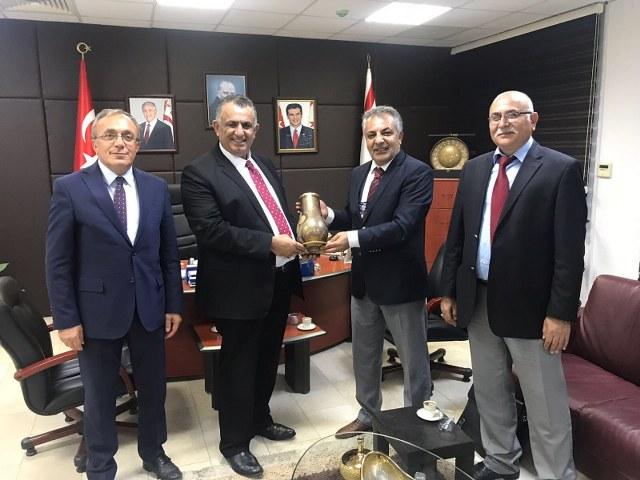 KKTC, Tarım ve Doğal Kaynaklar Bakanı Sayın Nazım ÇAVUŞOĞLU'nu ziyaret_640x480