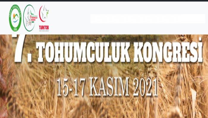 Uluslararası Katılımlı Türkiye 7. Tohumculuk Kongresi