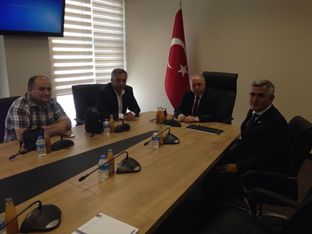 BİSAB Yönetim Kurulu BÜGEM Genel Müdürü Mevlüt GÜMÜŞ'ü ziyaret etti