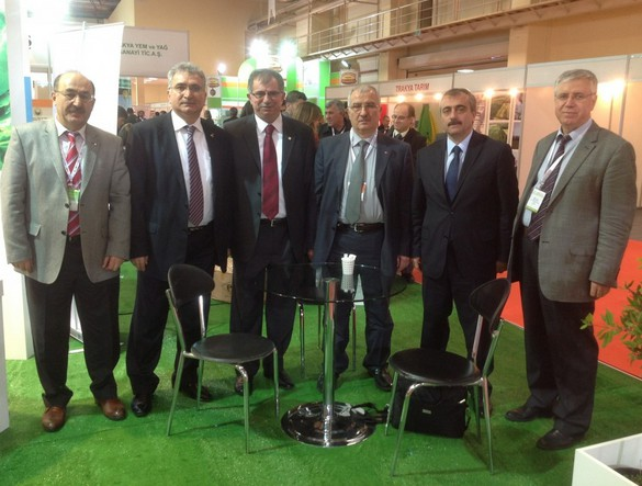 Türkiye Tohum Teknolojileri ve Tohumculuk Fuarı'na Katıldık