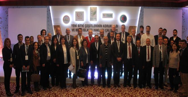 BİSAB, TÜRKTOB, TSÜAB ve Türkiye Barolar Birliği tarafından düzenlenen Yeni Bitki Çeşitlerinin Korunması ve Bitki Islahçı Hakları Çalıştayı 21-22 Şubat 2016 tarihlerinde Antalya'da yapıldı.