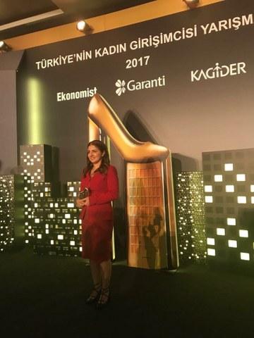 2017 Türkiye'nin Kadın Girişimcisi Yarışması 2017: Büşra Yapıcı